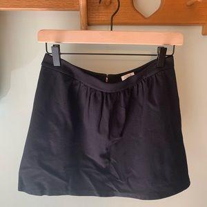 Black Ponte J.Crew Skirt